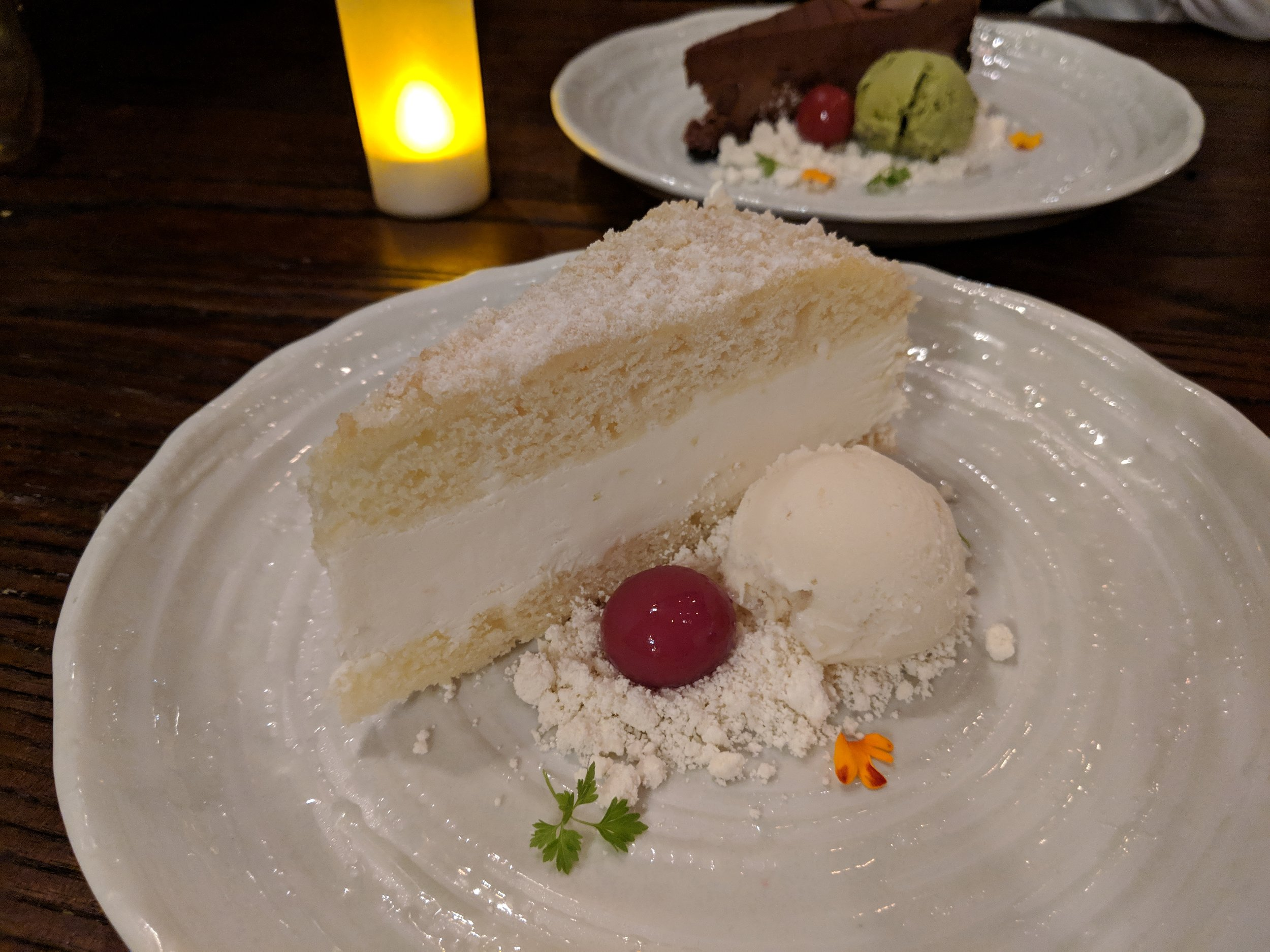 Aniq x Cheesecake Factory Desserts with Powdered Brown Butter