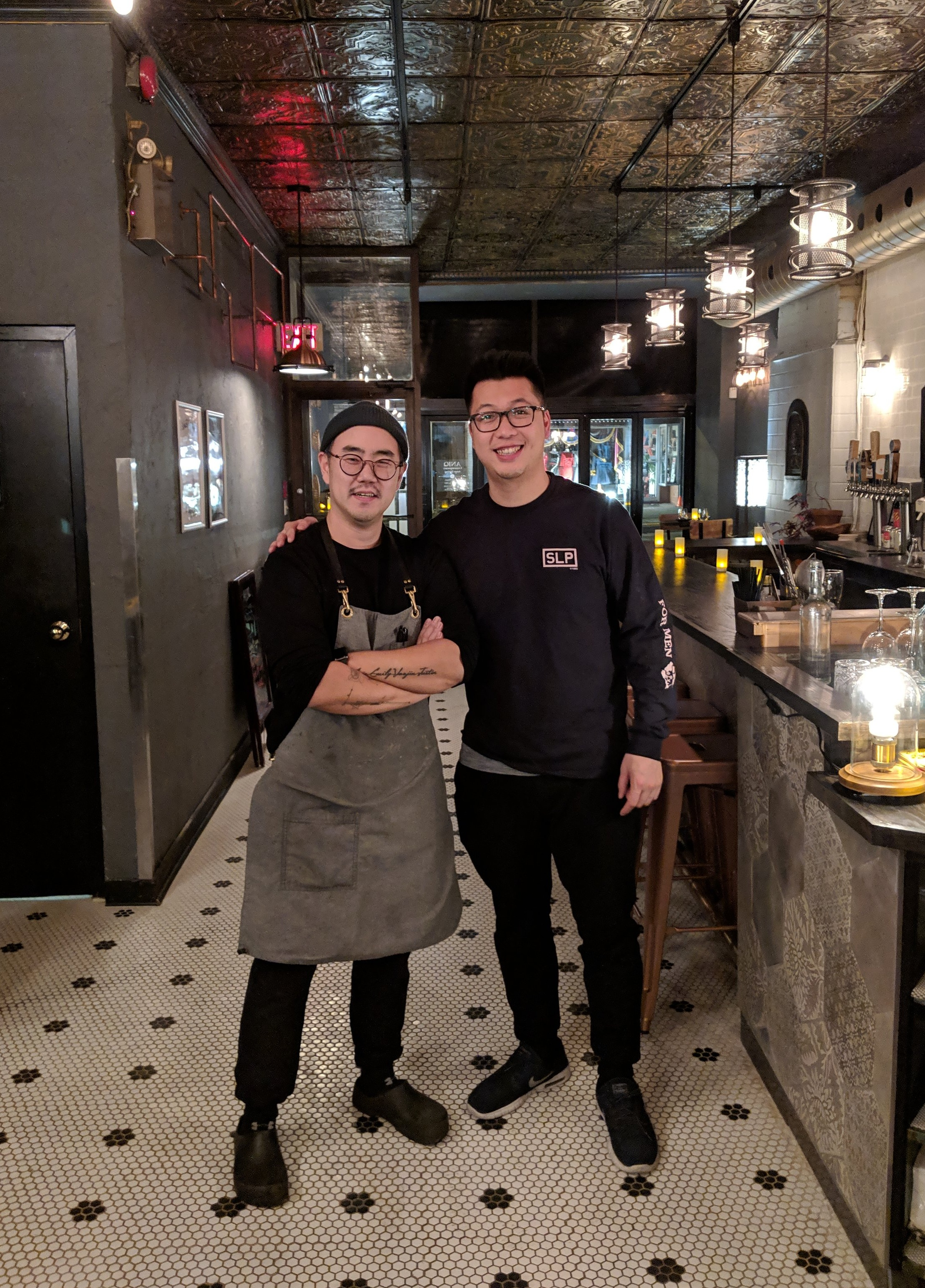 Aniq x GFT (Chef and Owner Eric Oh + Me)