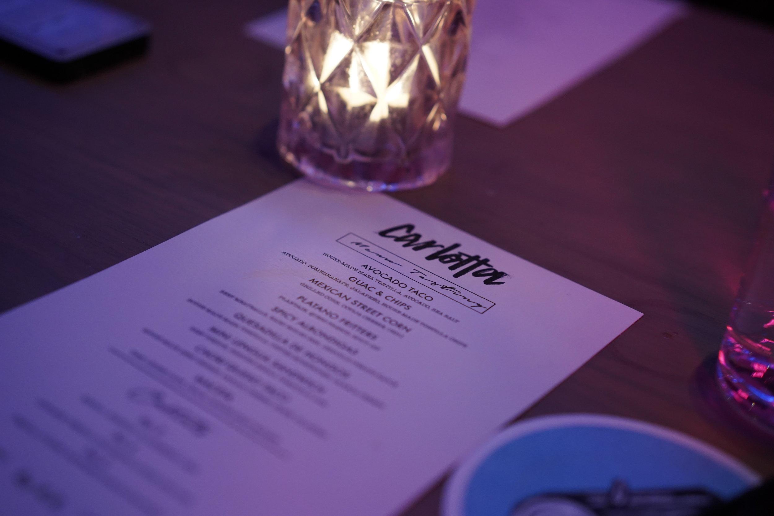 carlotta bar menu toronto queen west