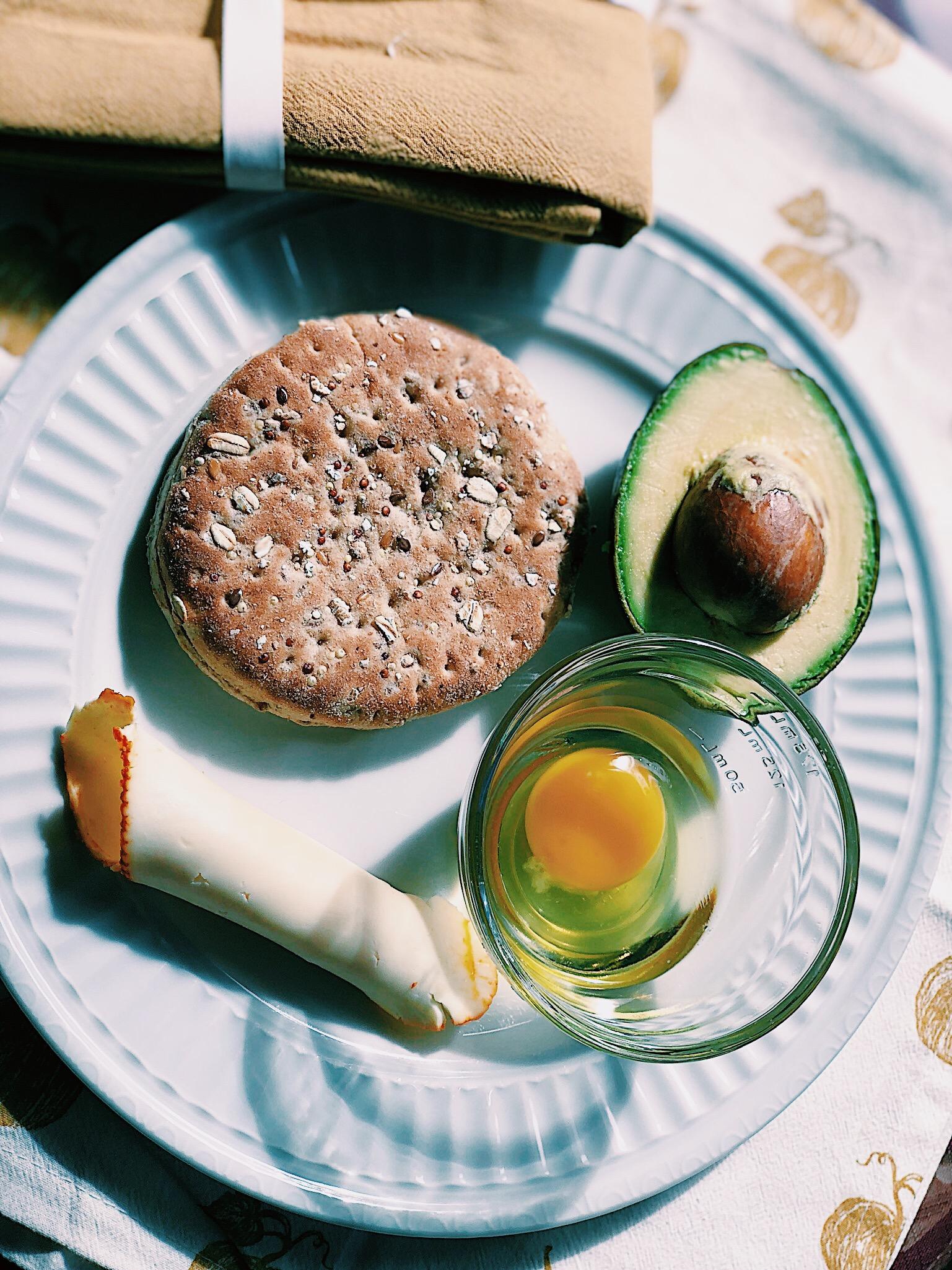 Avocado & Egg Sandwich -