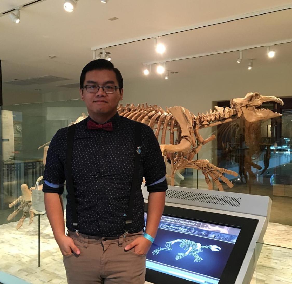 Gabriel-Philip Santos  @paleoparadox Specialty: Paleontology/Education