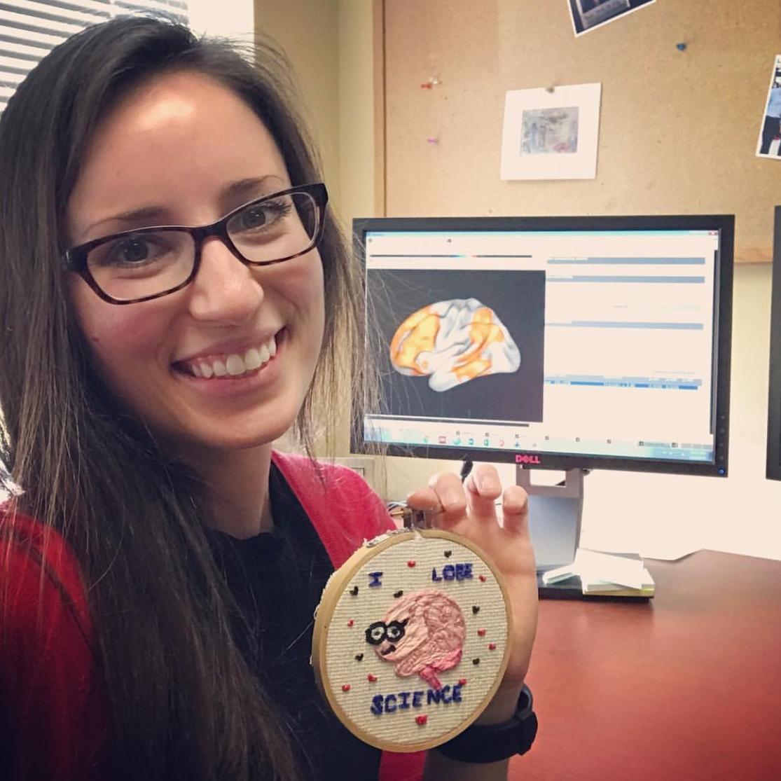 Janelle Letzen  @the_sushi_scientist Specialty: Neuroscience