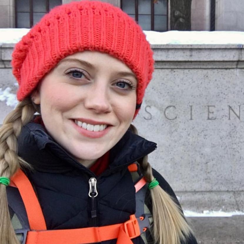 Imogene Cancellare  @biologistimogene Specialty: Wildlife Biology