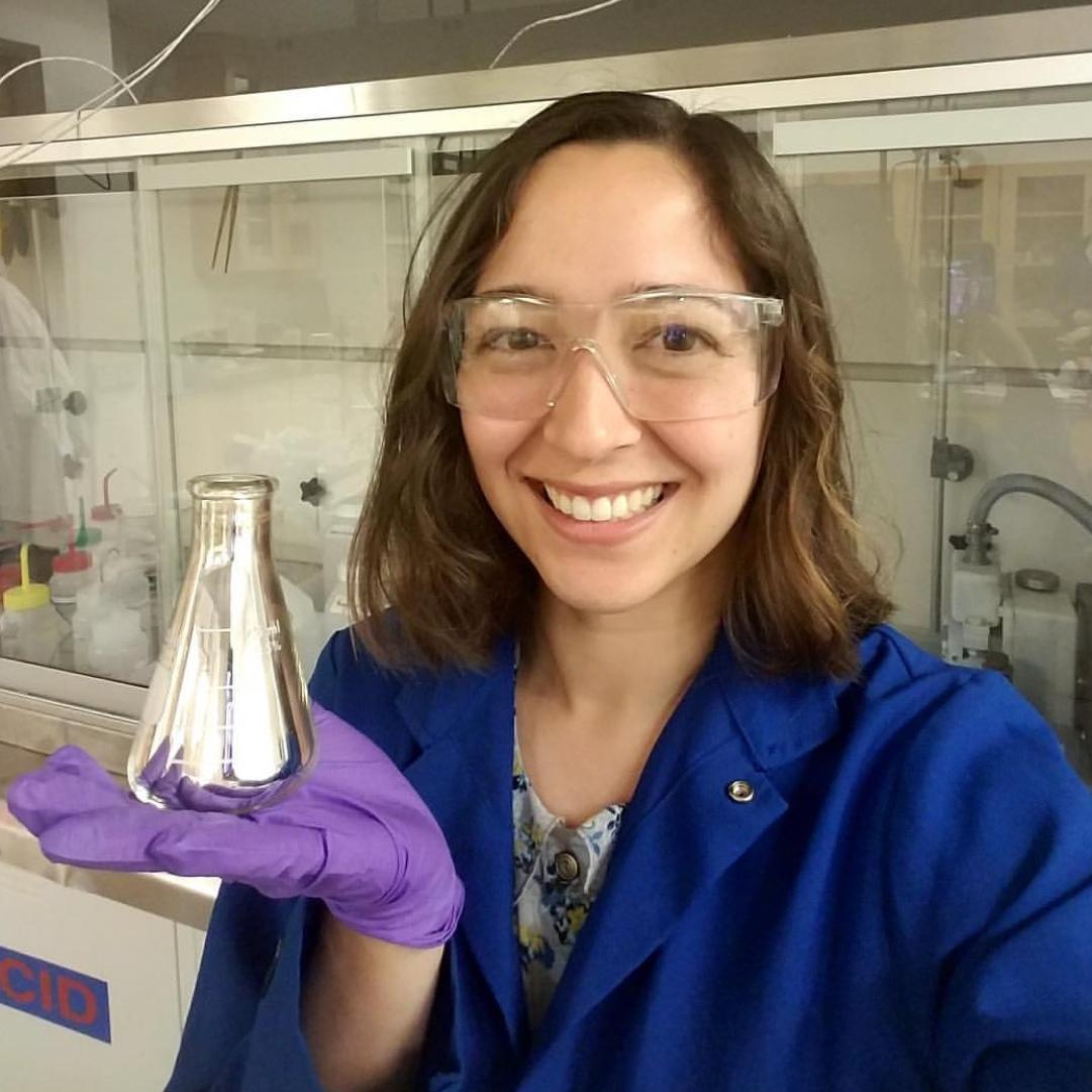 Kellen Kartub  @chem.with.kellen Specialty: Chemistry/Nanomaterials