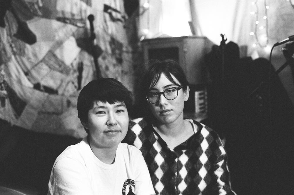 Jess Wu-O and Monica Skelton