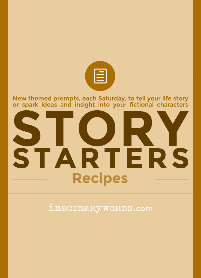 Story Starters: Recipes