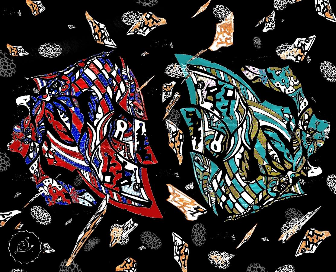 Samurai Duality (w/logo)
