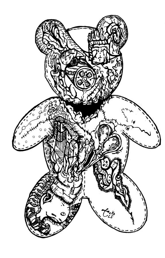 Bearly Stitched