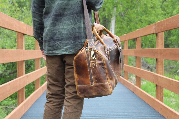 40c0dc0fc 30L Weekender Duffel — Kodiak Leather