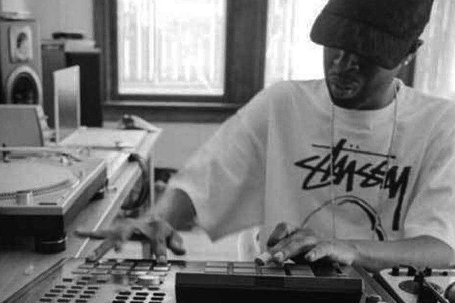 dilla on the pads