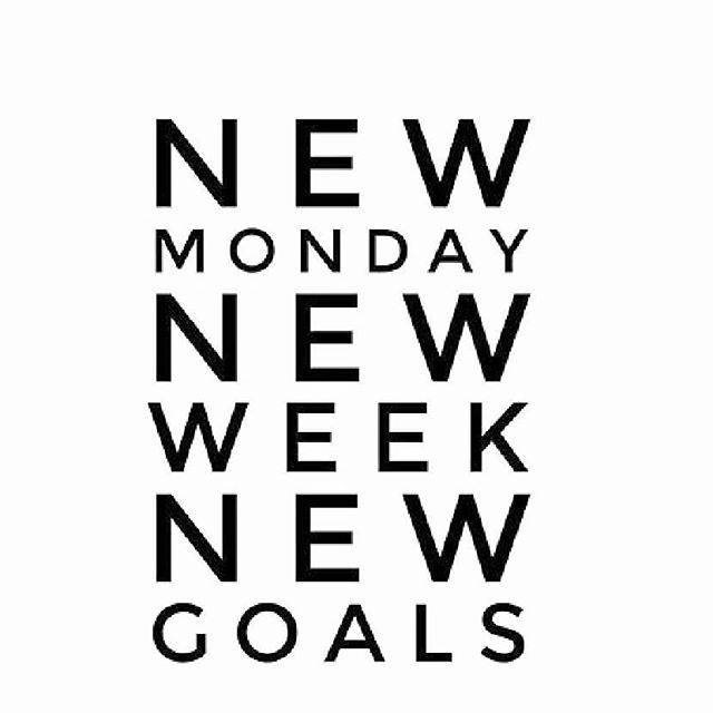 🔸So much to do and achieve this week! 💪🏼❤️ What are your goals for the week?🔸