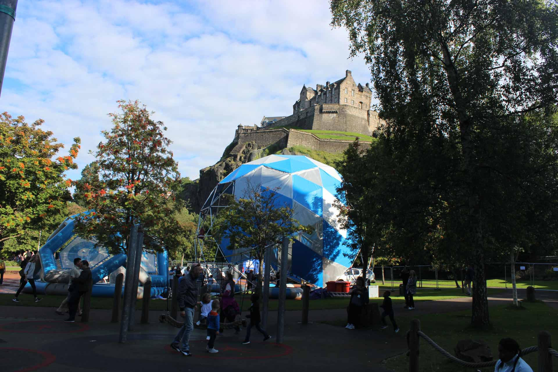 Innovative physical activities for the family in Edinburgh