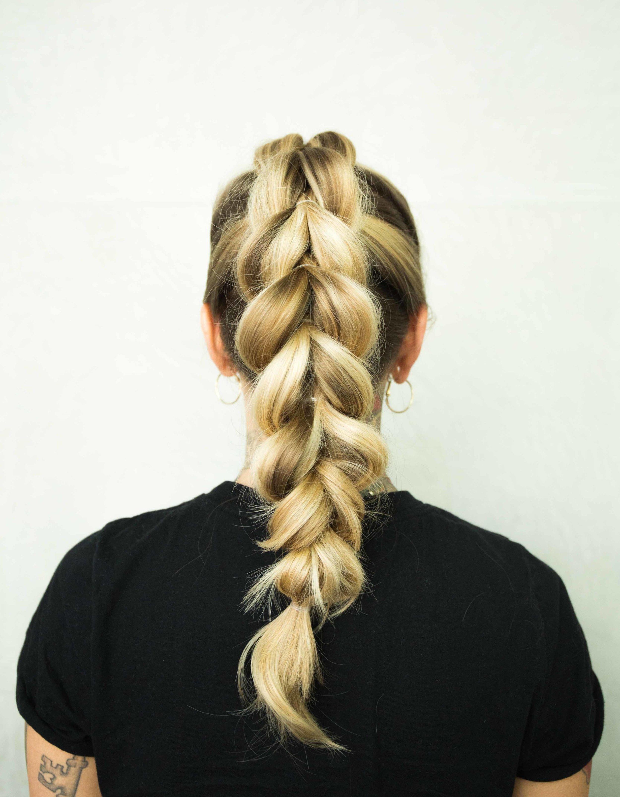 pull through braid