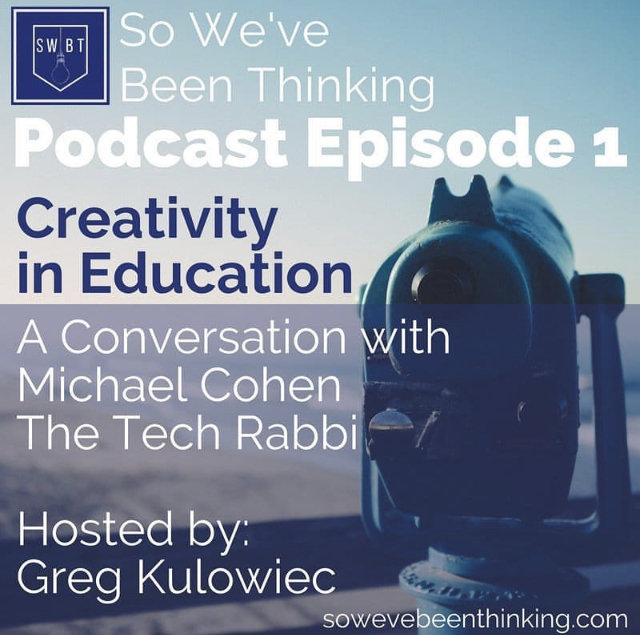 Episode 1: Creativity -with Michael Cohen -