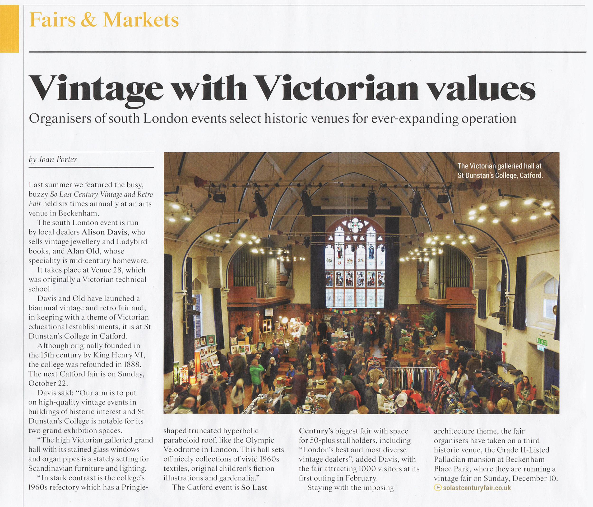 Antiques Trade Gazette, Sept 2017