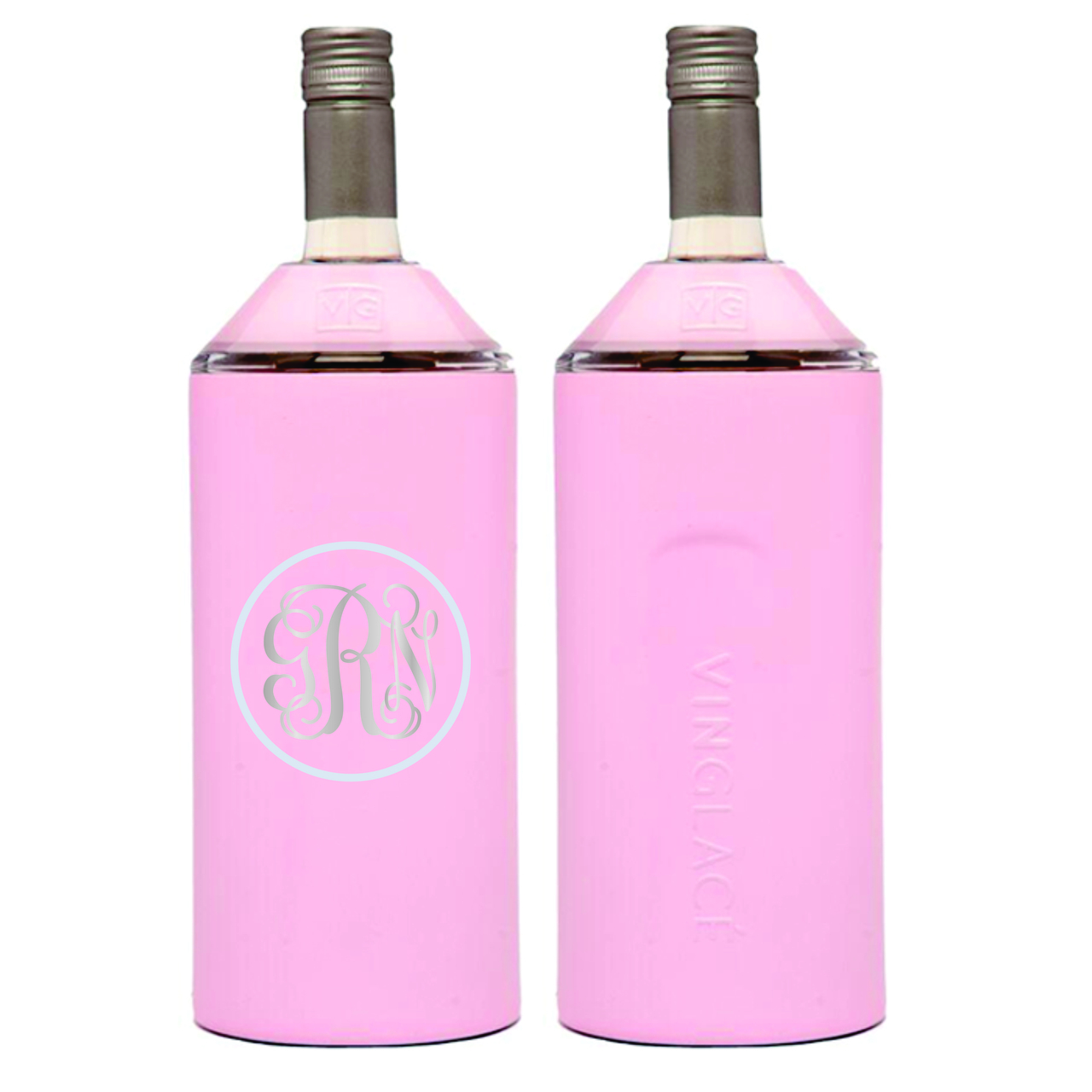 Engraved Vinglacé Wine Chillers - AS SEEN ON KATHIE LEE AND HODAThese double insulated, stainless steel wine insulators will keep your bottle at the perfect temperature all day long. Select your favorite color and you'll be able to personalize it with a custom engraved design.