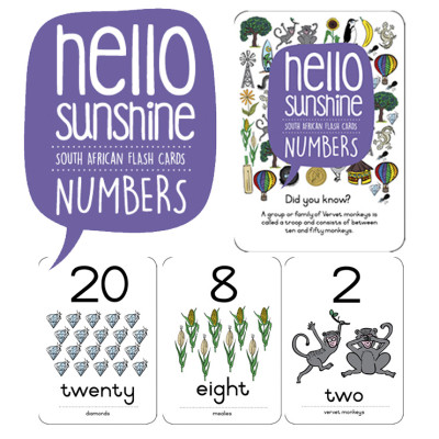 Flash cards - Learning should be fun, and these flashcards from Utique ticks all of the boxes