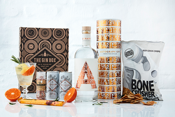 Subscription boxes - Subscription boxes. This one, a gin box from The Gin box, is the perfect gift for any gin sipping mom. Enjoy the gin, with nothing to keep unless you want to reuse the bottle.