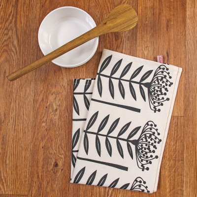 Tea cloth - No kitchen is complete without a dishtowel or tea cloth, especially if you are trying to go paperless. Give her one with a beautiful design. This one is from A Place to Shop