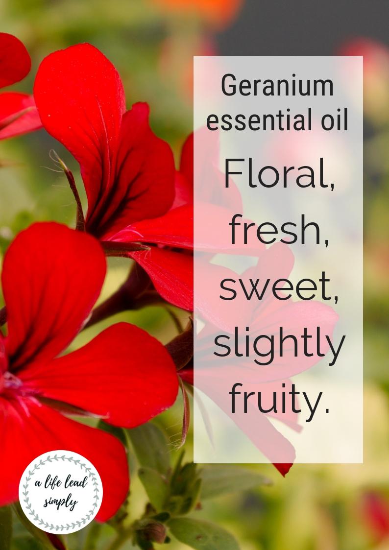 Geranium essential oils, A life lead simply.com, #naturalhealth #natural #essentialoils #essential #oils #relaxing #zerowaste #zerowastebeauty (1).jpg