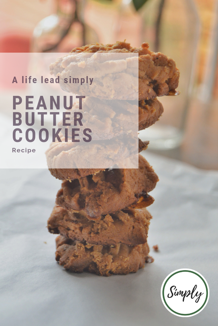 Peanut butter cookies, A life lead simply #simplefood #realfood #lchf #keto