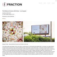 Fraction Magazine, 2017