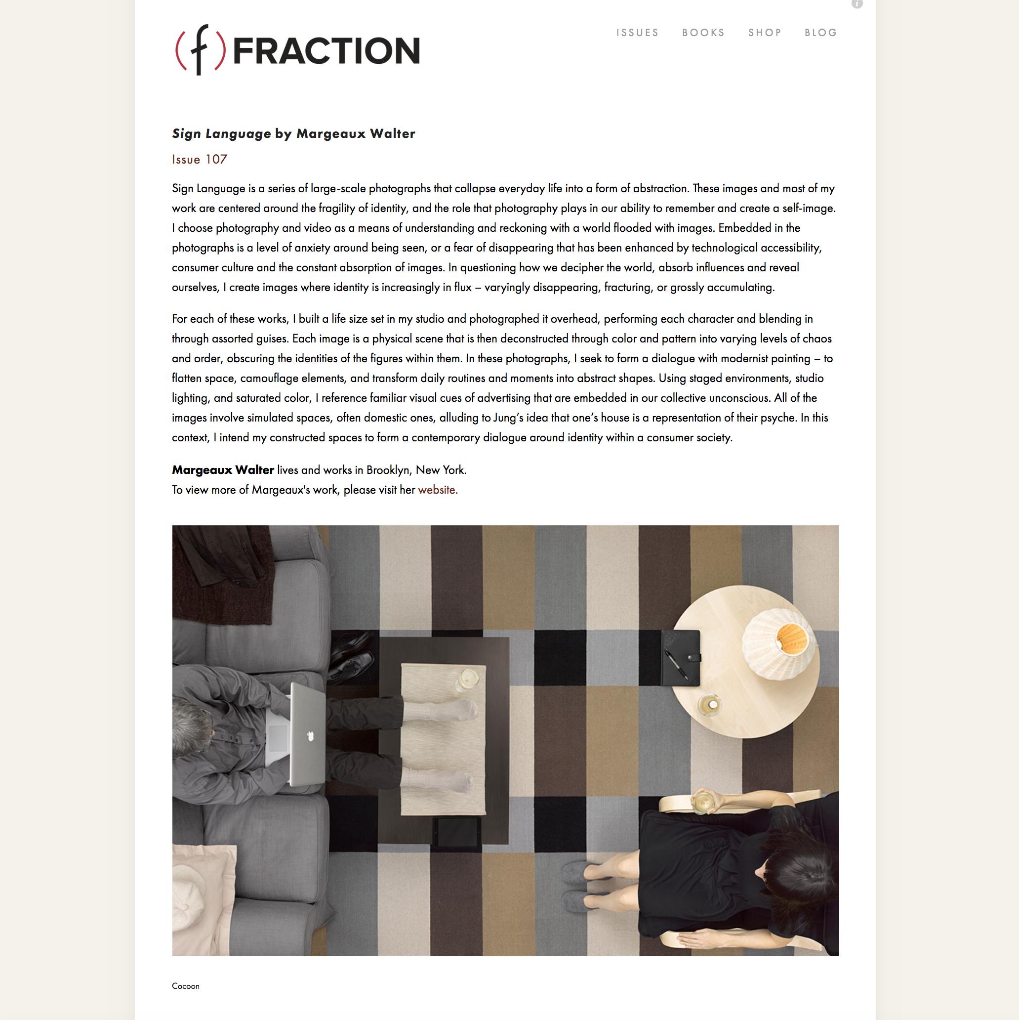 Fraction Magazine, 2018