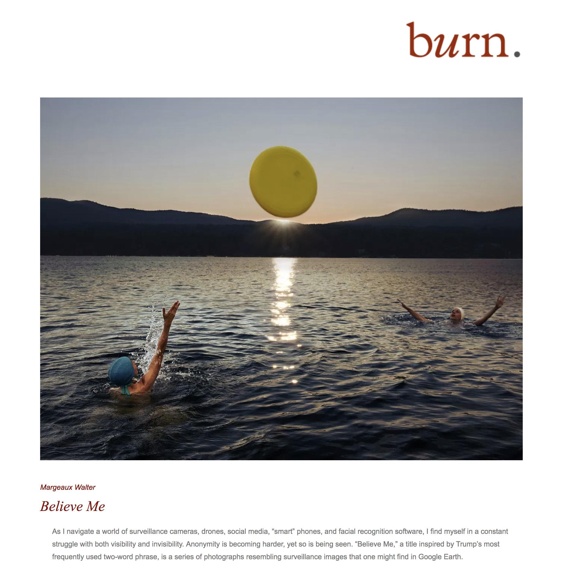Burn Magazine, 2019