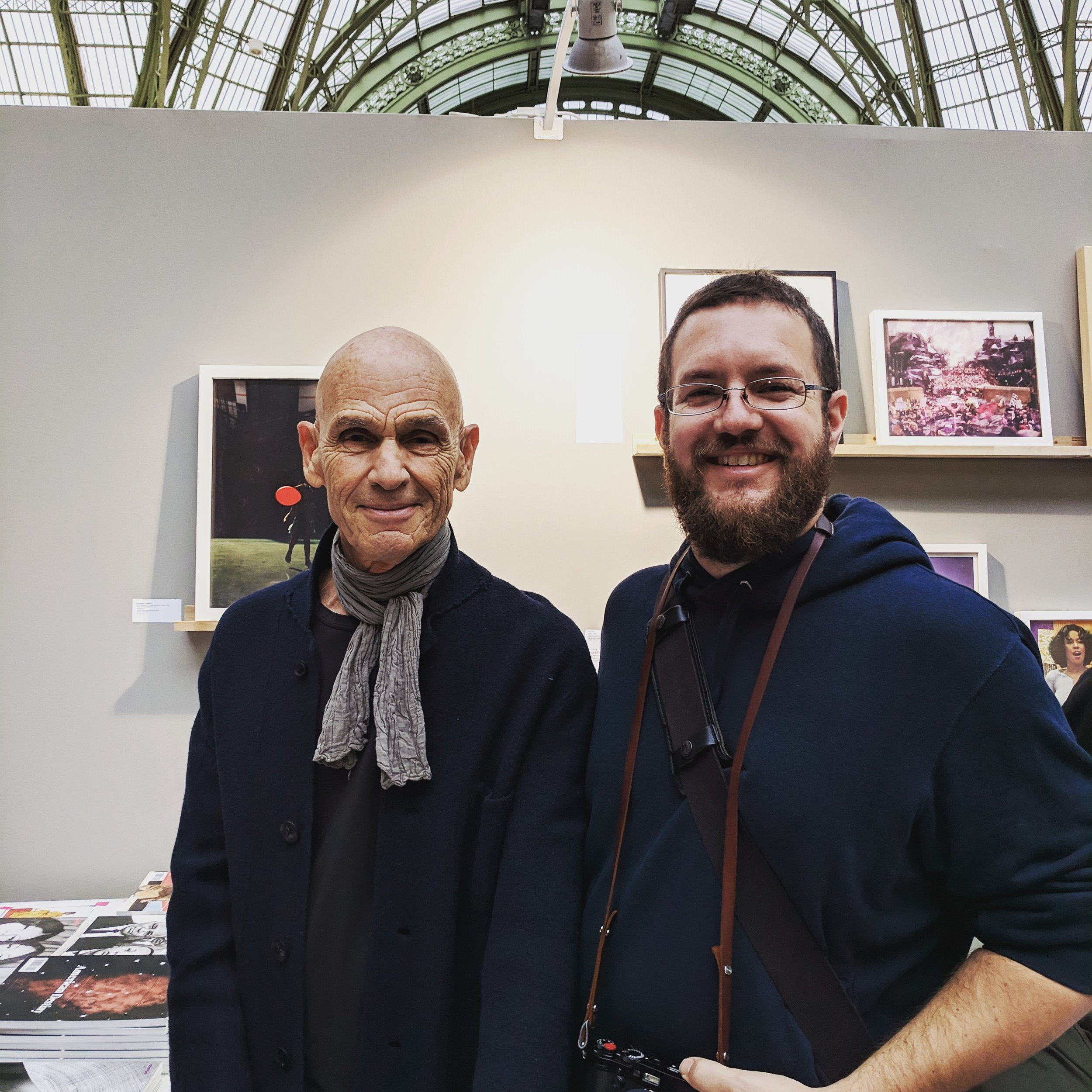 Me and Joel Meyerowitz at Paris Photo 2018.