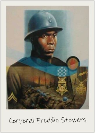 Corporal Freddie Stowers was posthumously awarded the Medal of Honor.