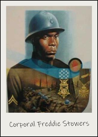 Le caporal Freddie Stowers a reçu la médaille d'honneur à titre posthume.
