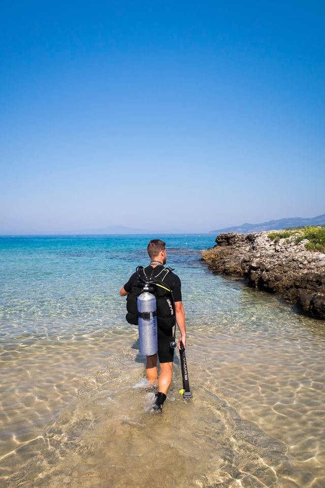 Dive Code-In case you are a scuba diving enthusiast you should definitely visit Dive Code at Kalogria Beach, StoupaIf you are not, it's time to become one! -