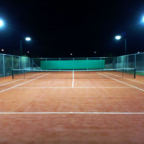 No need to miss your tennis excersise while on holidays! Book tennis court & lessons now in Stoupa! -