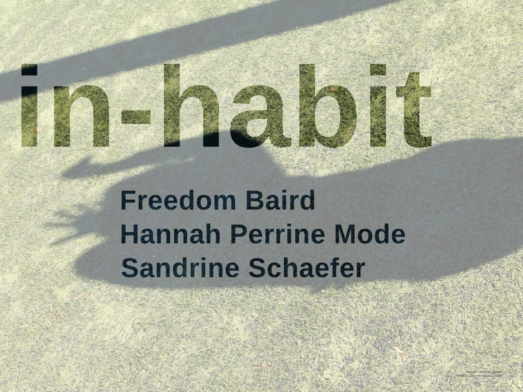 in-habit - EXHIBITION