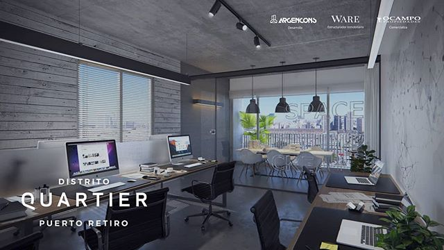 Edificio Studios: Unidades flexibles, ideales para uso residencial, alquiler temporario u oficina comercial.  Para recibir más información ingresá en el link de nuestra bio!