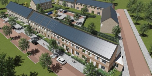 2013 - WINNER ZERO ENERGY HOUSING COMPETITION - WeBuildhomes won the Nianesto zero energy housing competition of public housing company Portaal. And realized 14 zero energy rowhouses in Leidsche Rijn Utrecht.