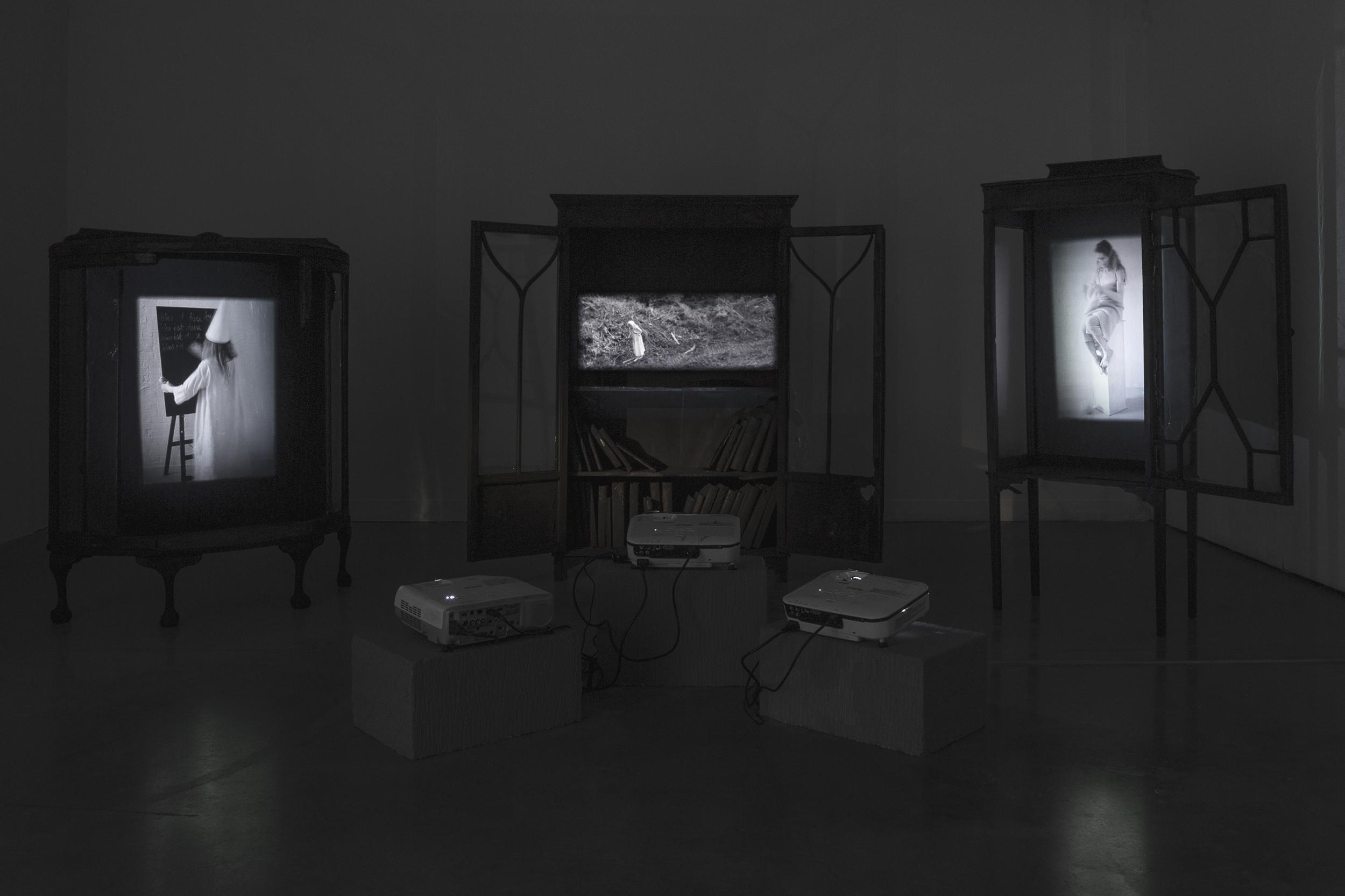 Professional Doctorate Fine Art Showcase installation, Ali Darke