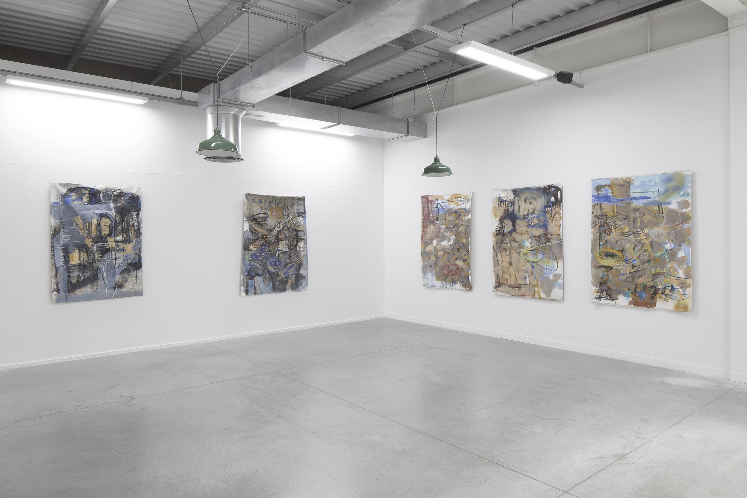 Professional Doctorate Fine Art Showcase installation, Mary Crenshaw