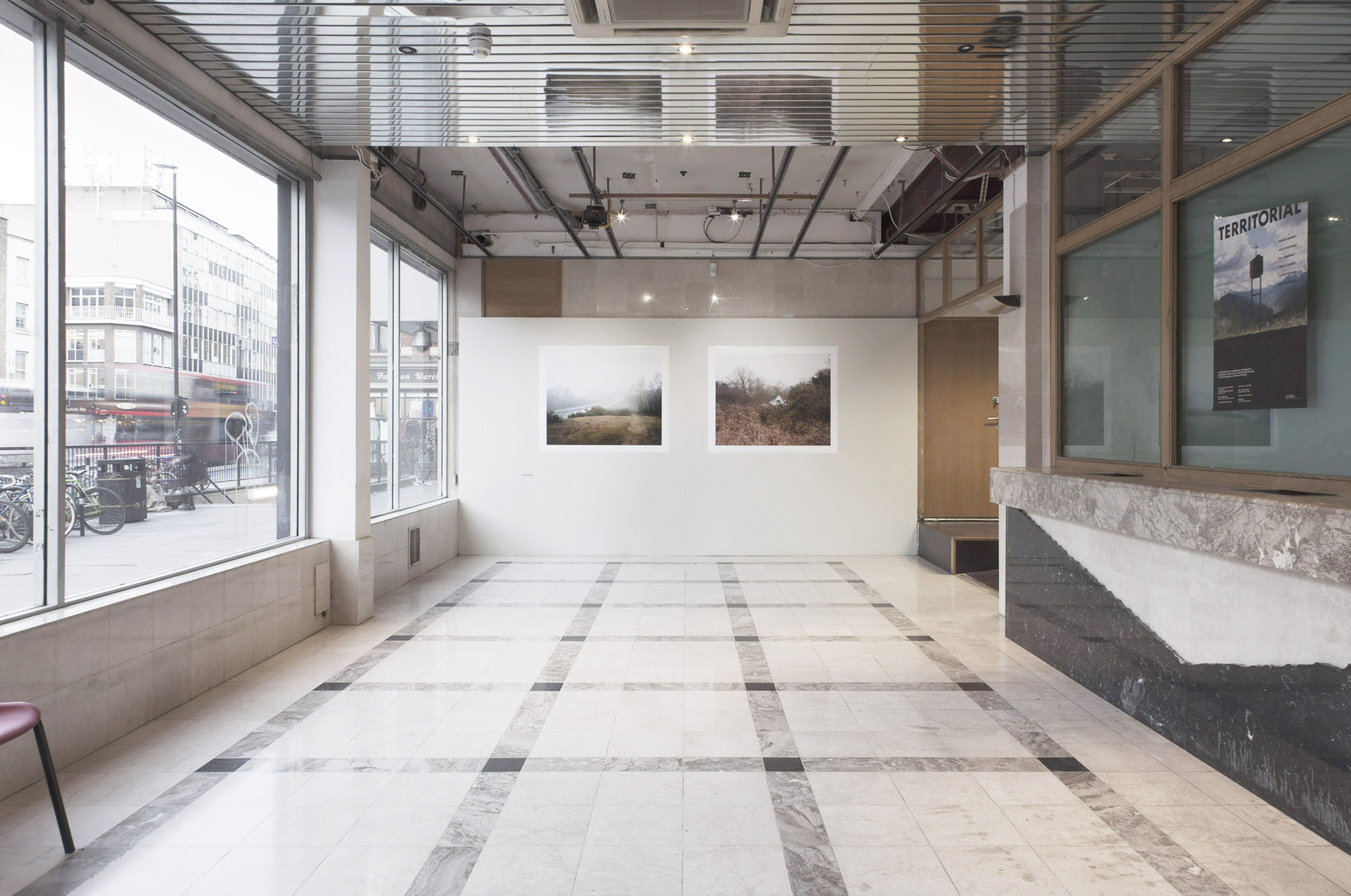 Territorial exhibition, the CASS Bank Space Gallery, London Metropolitan University