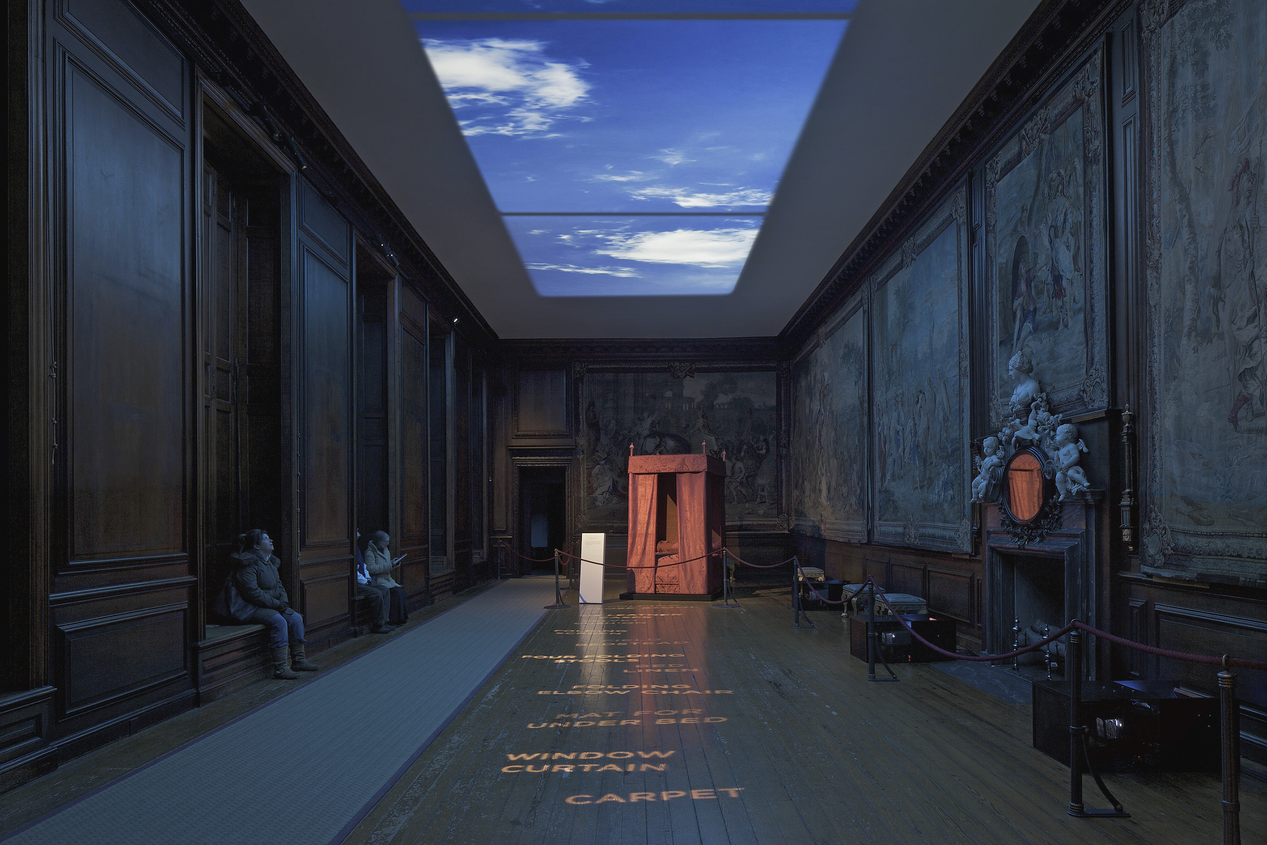 Secrets of the Royal Bedchamber, Hampton Court Palace, Universal Design Studio / Duncan McCauley