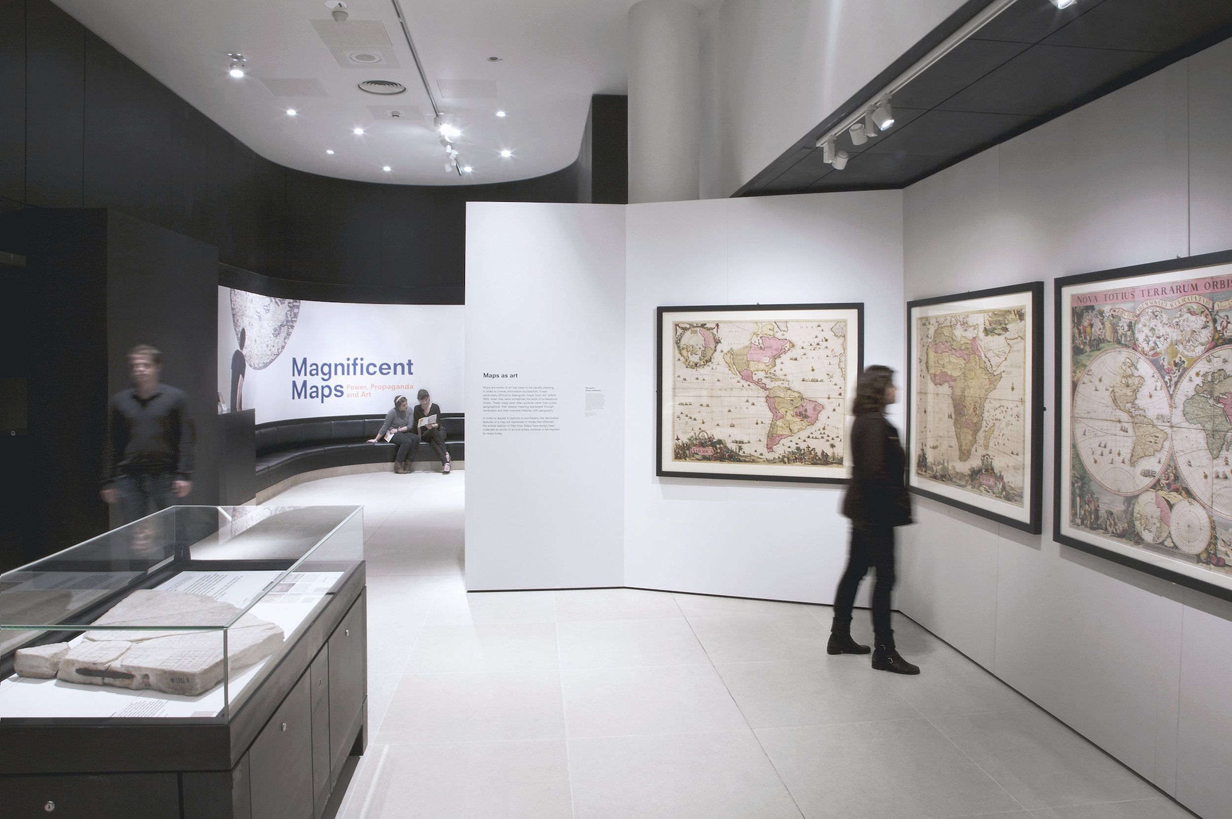 Magnificent Maps, British Library, Universal Design Studio