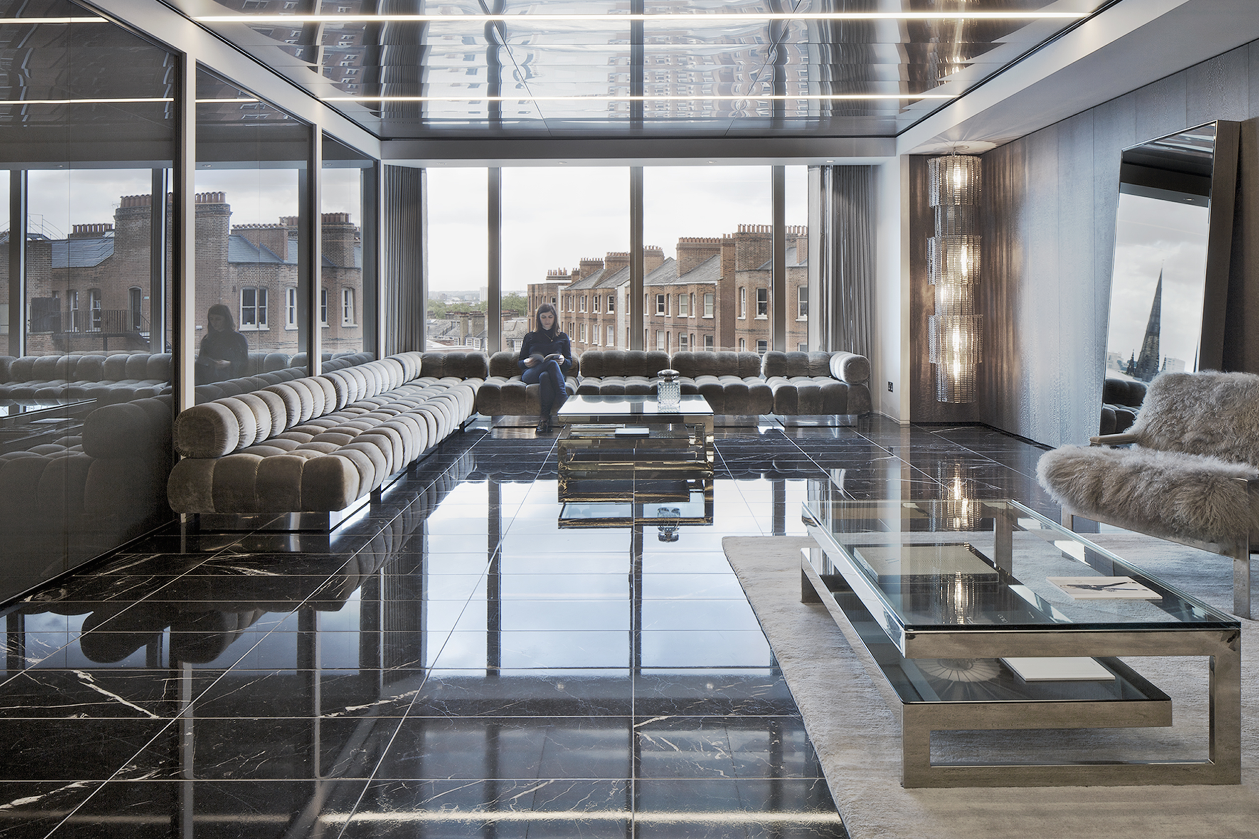 Jimmy Choo office headquarters, London, Universal Design Studio
