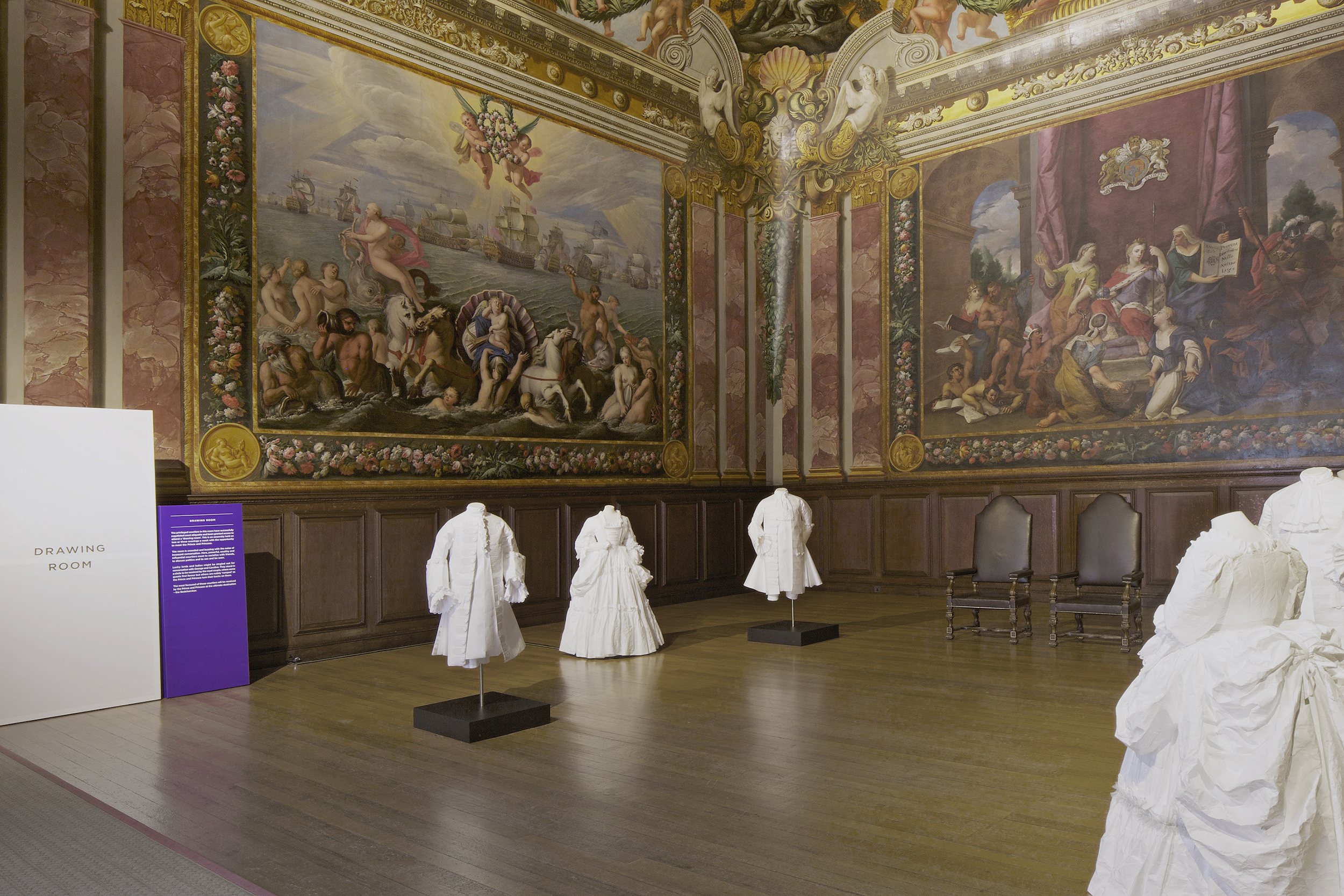 Secrets of the Royal Bedchamber, Hampton Court Palace, Universal Design Studio