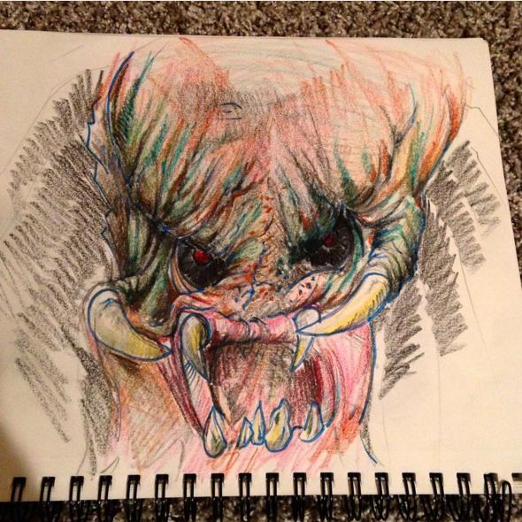 Predator in Crayon.png