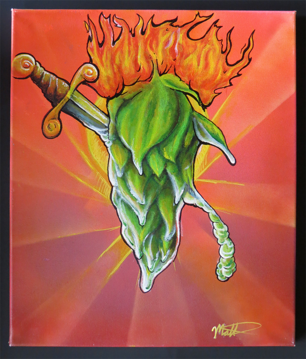 Hops and Fire $130