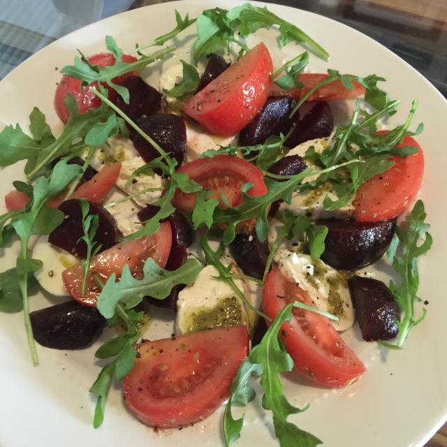 Tomato, Beet and Burrata Salad 4.jpeg