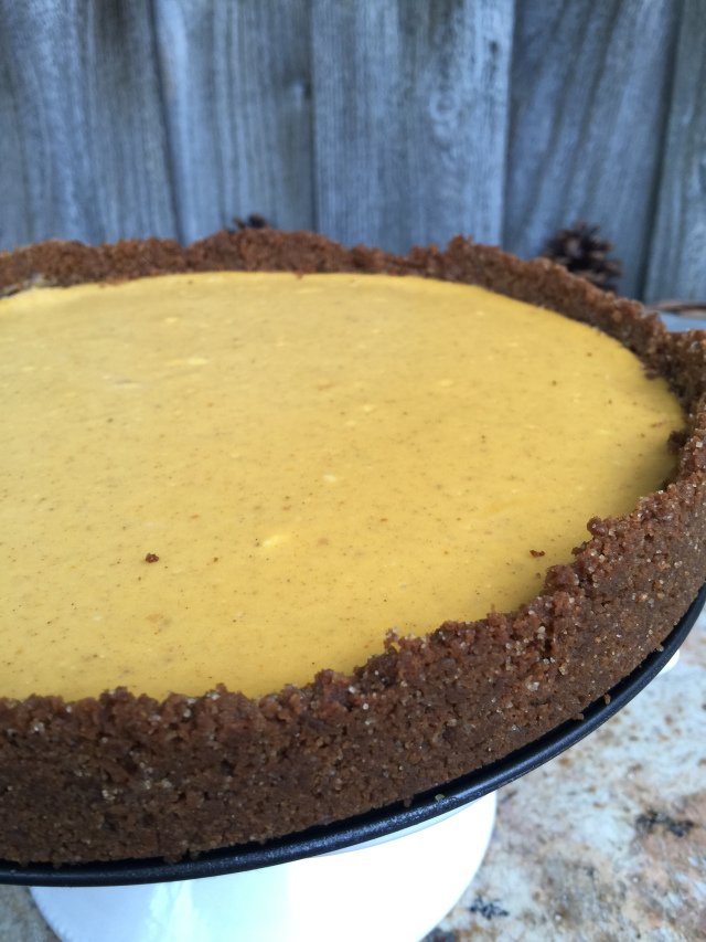 Pumpkin Cheesecake with Gingersnap Crust 1.jpeg