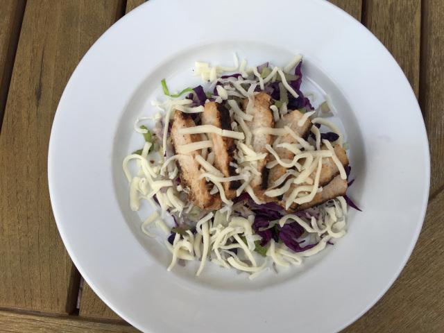 Garlic & Soy Pork Chop with Cabbage Salad .jpg