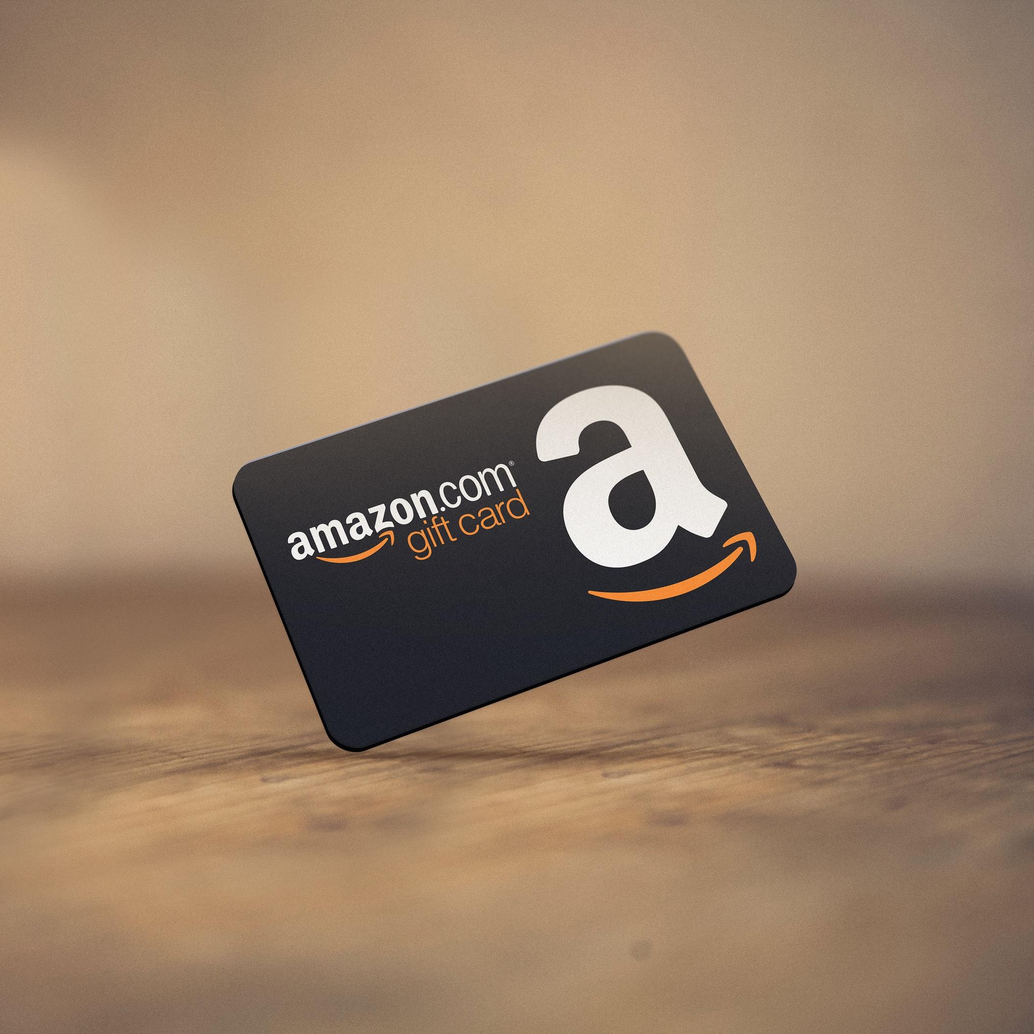 Amazon Gift Cards ($20-$300)