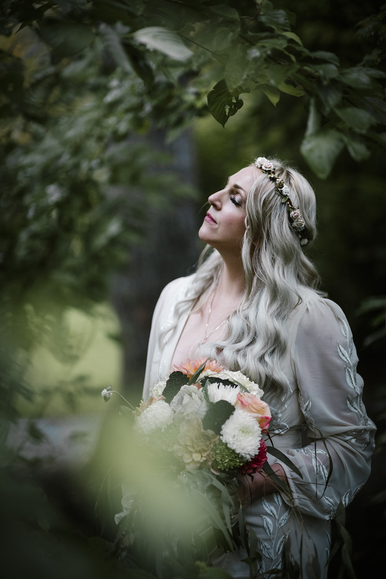wedding Salish lodge washington